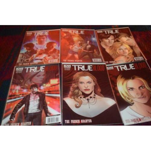 true blood comics