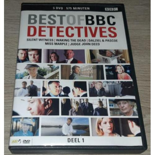 Best Of BBC Detectives 4DVD Box
