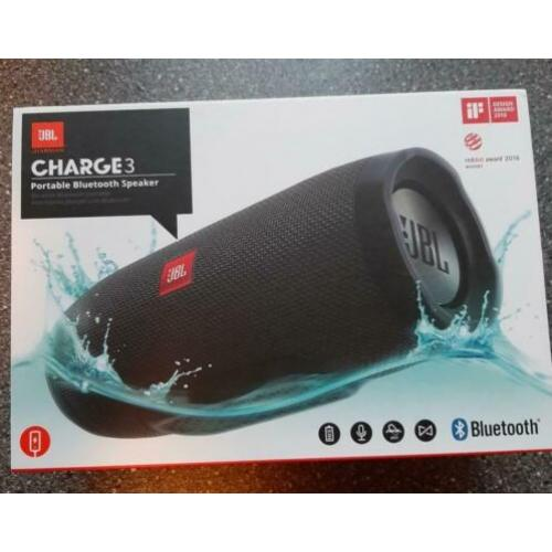 Bluetooth speaker JBL Charge 3 GERESERVEERD