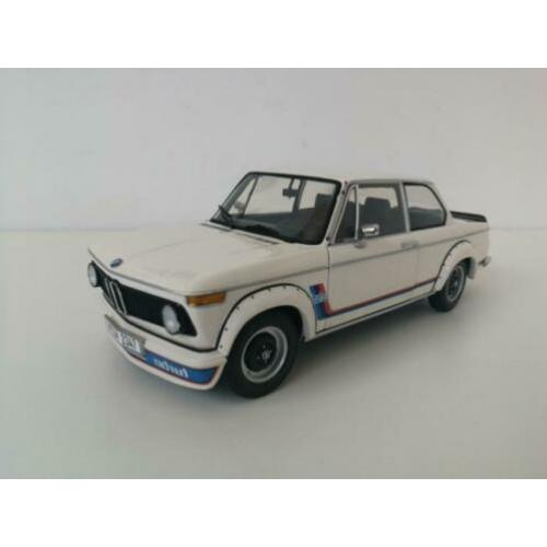Kyosho 1:18 BMW 2002 Turbo Wit OVP dealer edition ZGAN