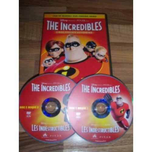 Disney Pixar THE INCREDIBLES 1 (2-disc) in nieuwstaat