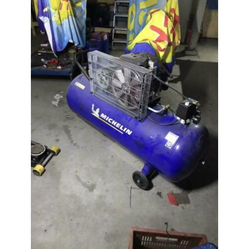 Michelin compressor 200L 400V