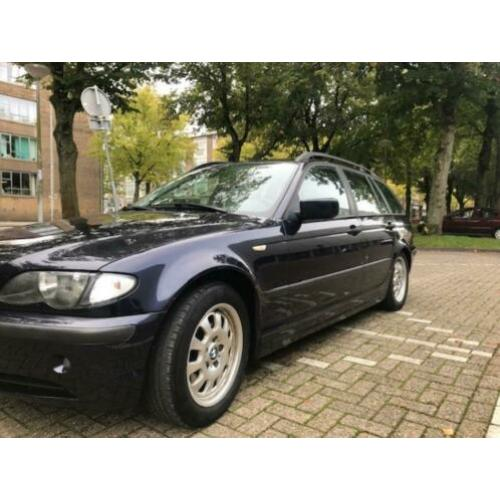 BMW 3-Serie 2.0 D 320 Touring 2003 Blauw