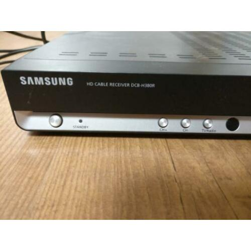 samsung dcb-h380r cable receiver & afstandsbediening