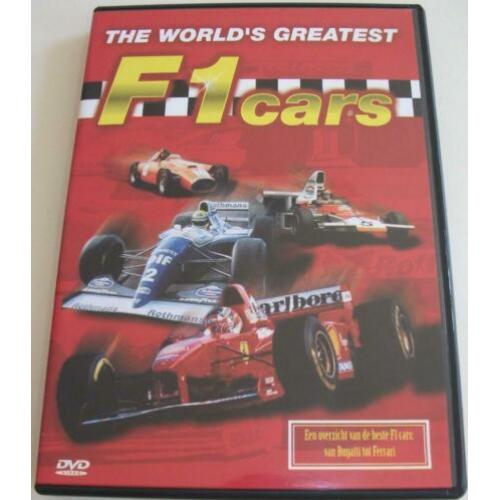 Dvd *** THE WORLD'S GREATEST F1 CARS *** Bugatti tot Ferrari
